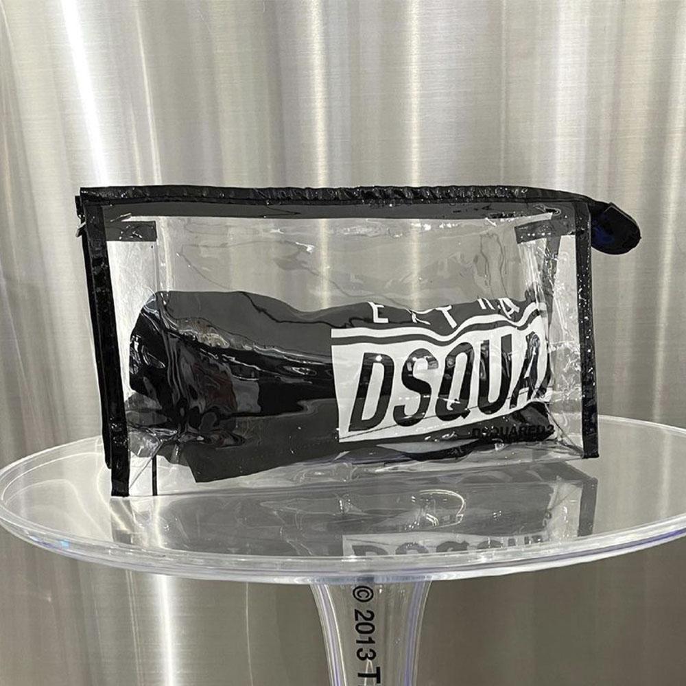 DSQUARED2 ショーツ D7B553690 01848 BLACK