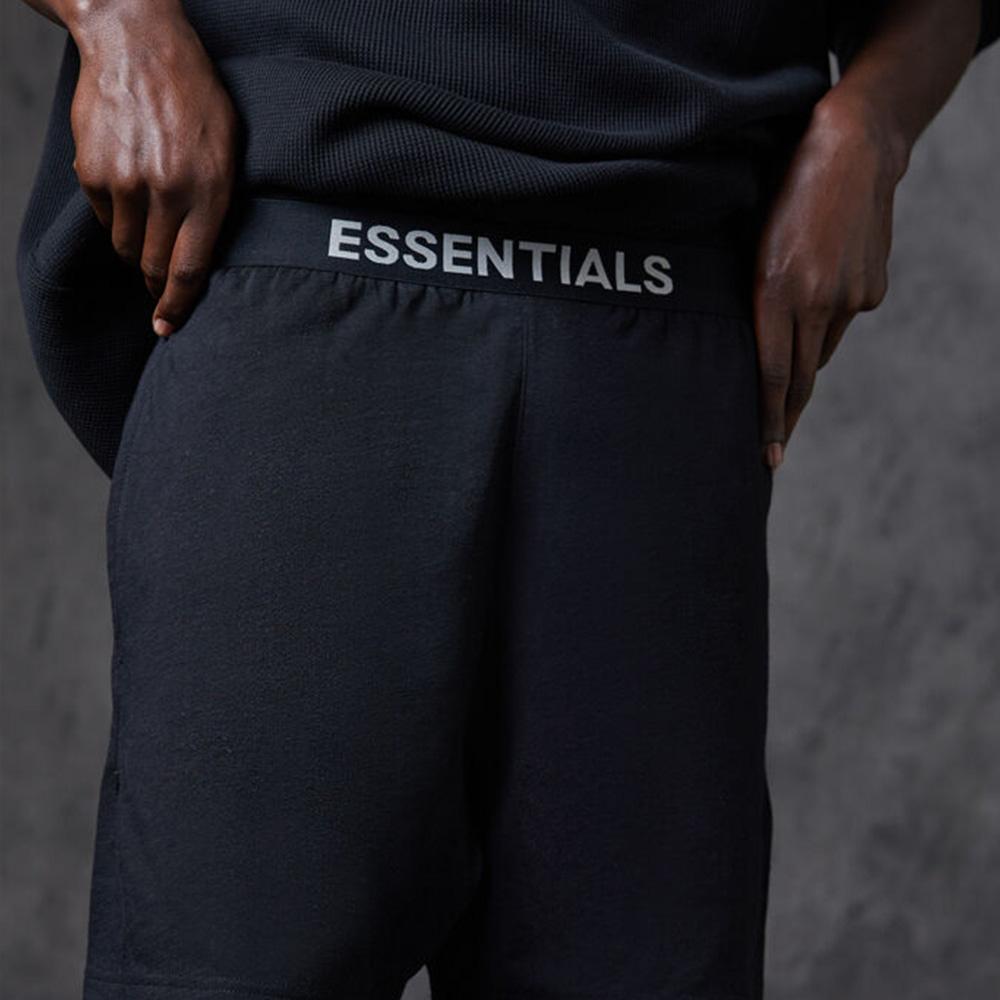 FOG ESSENTIALS ショーツ Lounge Shorts BLACK