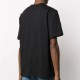 MSGM Tシャツ SCOOP NECK WITH POOL PATCH  BLACK