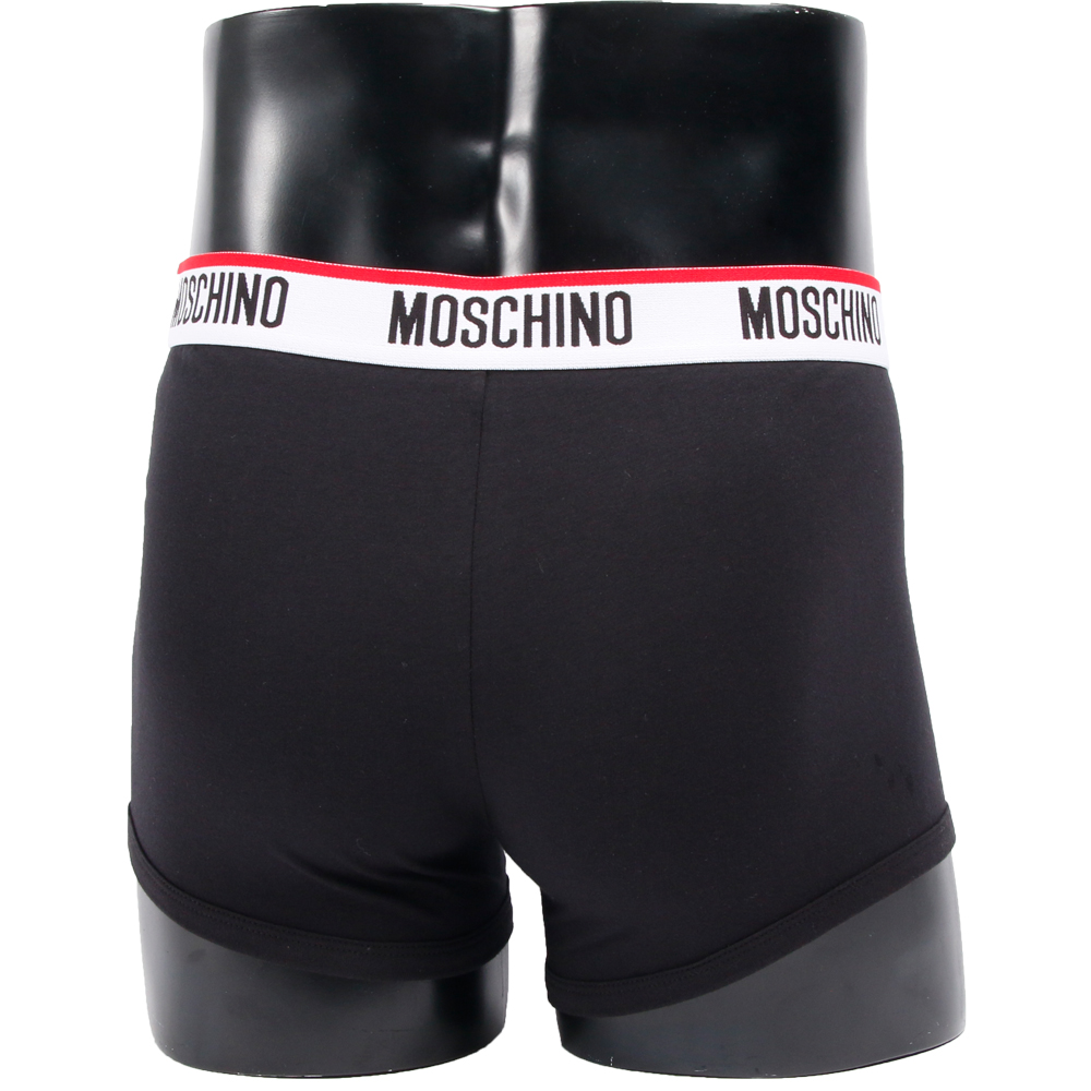 MOSCHINO ボクサーパンツ TRUNK 4718-BLACK