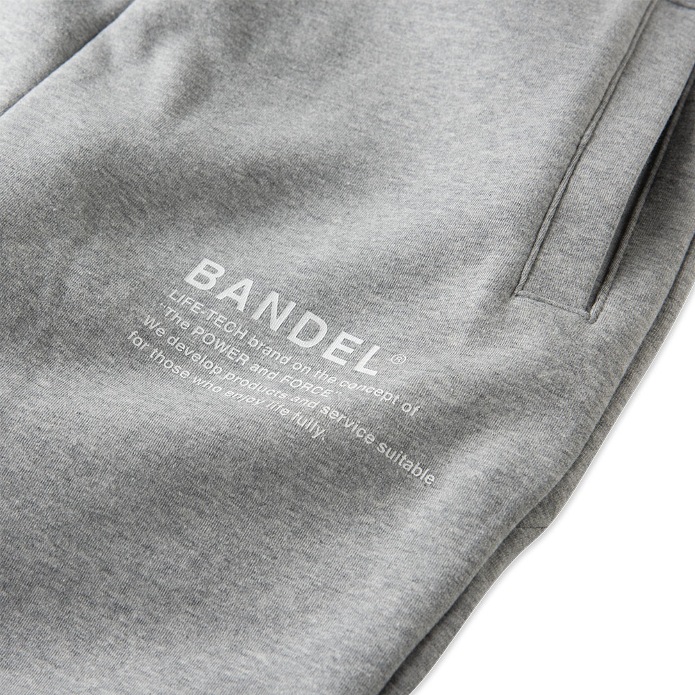 BANDEL バンデル ジョガーパンツ Concept Notes BAN-JP007 Heather Grey