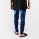 RESOUND CLOTHING パンツ Blind DENIM JERSEY RC21-ST-019  INDIGO B