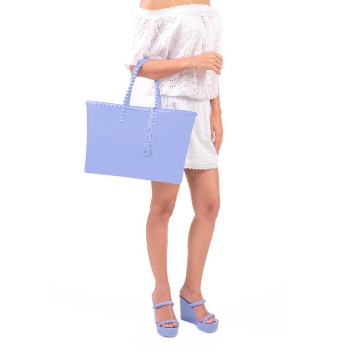 Carmen Sol カルメンソル ラージ トートBAG BABY BLUE