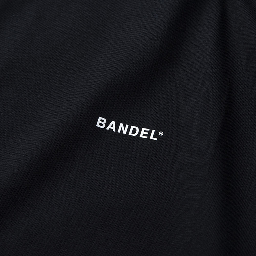 "BANDEL Tシャツ COLLECTION LINE ""GHOST"" XL-LOGO S/S T BAN-T011 BlackxGold"