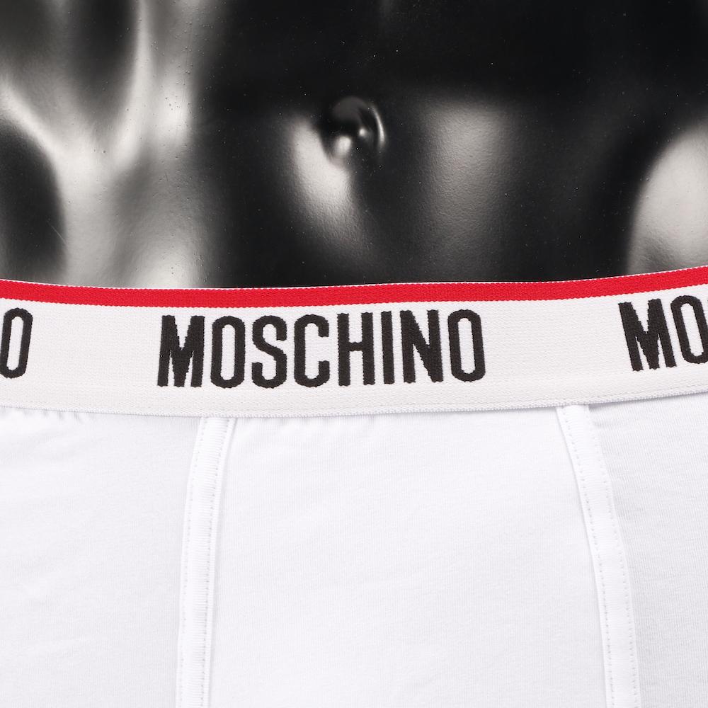 MOSCHINO ボクサーパンツ TRUNK 4718-WHITE