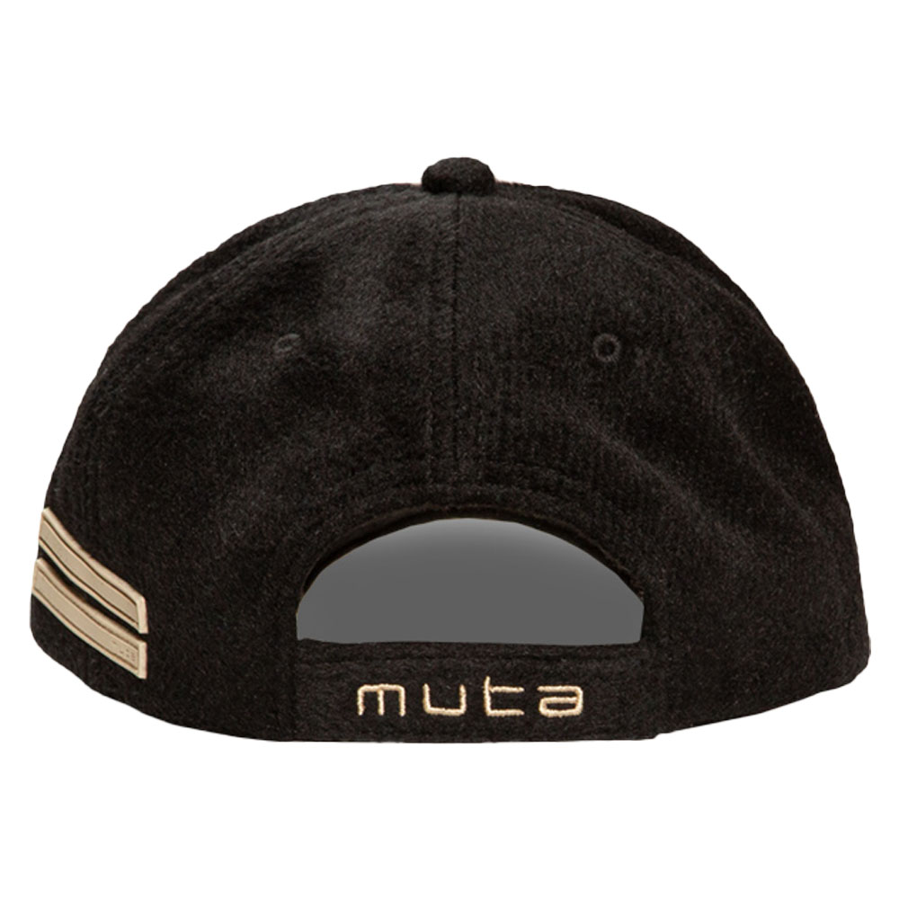 muta MARINE キャップ メルトン切替 WAVE MMAV-622034 BLACK