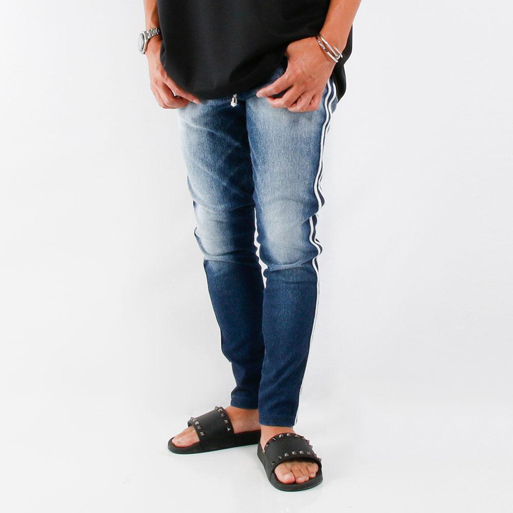 RESOUND CLOTHING パンツ EX denim jersey line PT RC21-ST-008D DARK INDIGO