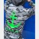 muta MARINE ラッシュパーカー MONO CAMO MMTK-435038 BLACK