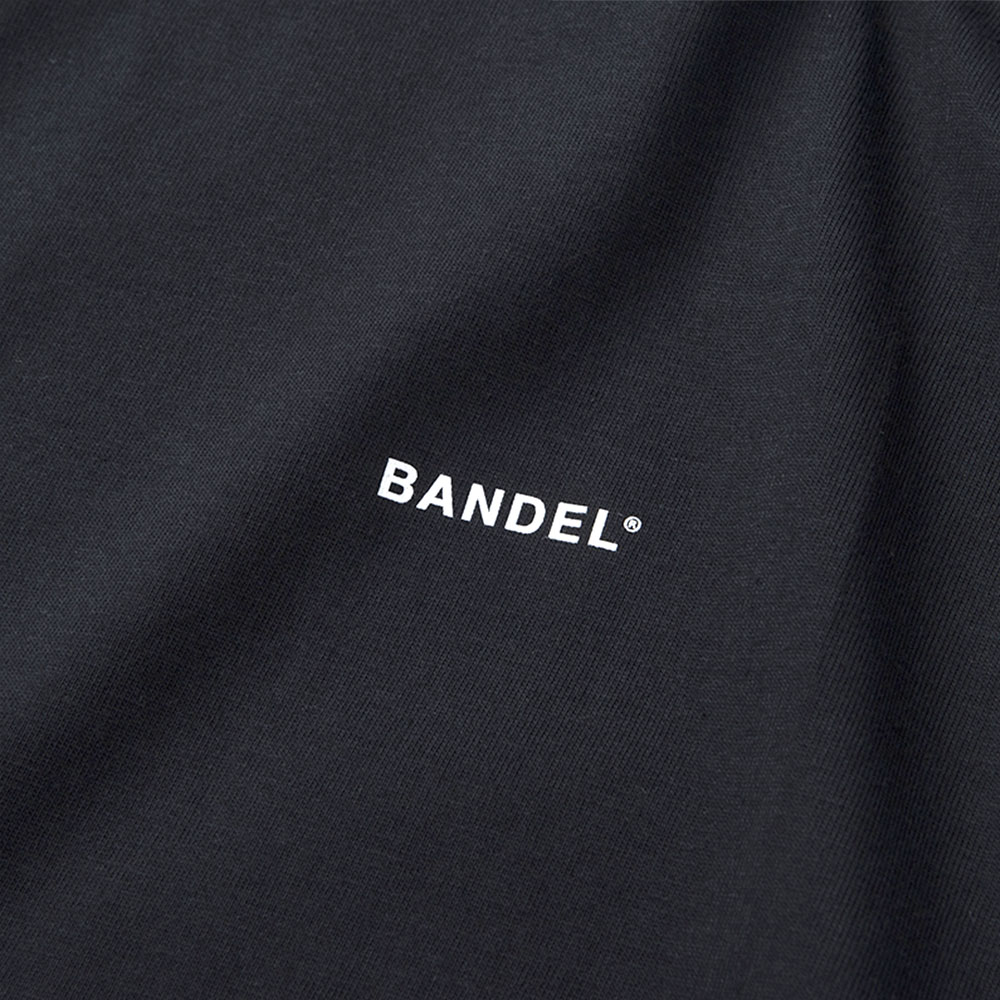 """BANDEL Tシャツ COLLECTION LINE """"GHOST"""" XL-LOGO S/S T BAN-T011 BlackxSilver"""