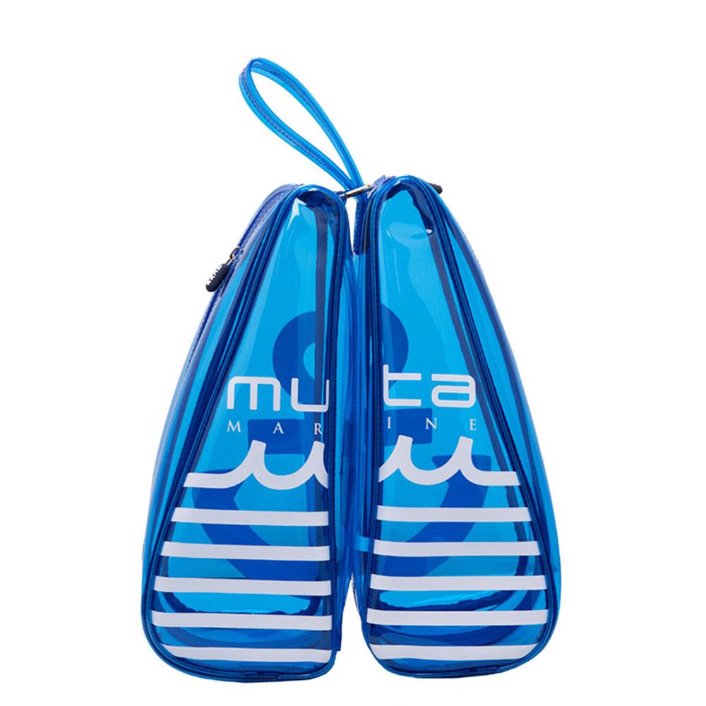 muta MARINE バッグ クリアシューズケース MMBC-200848 BLUE