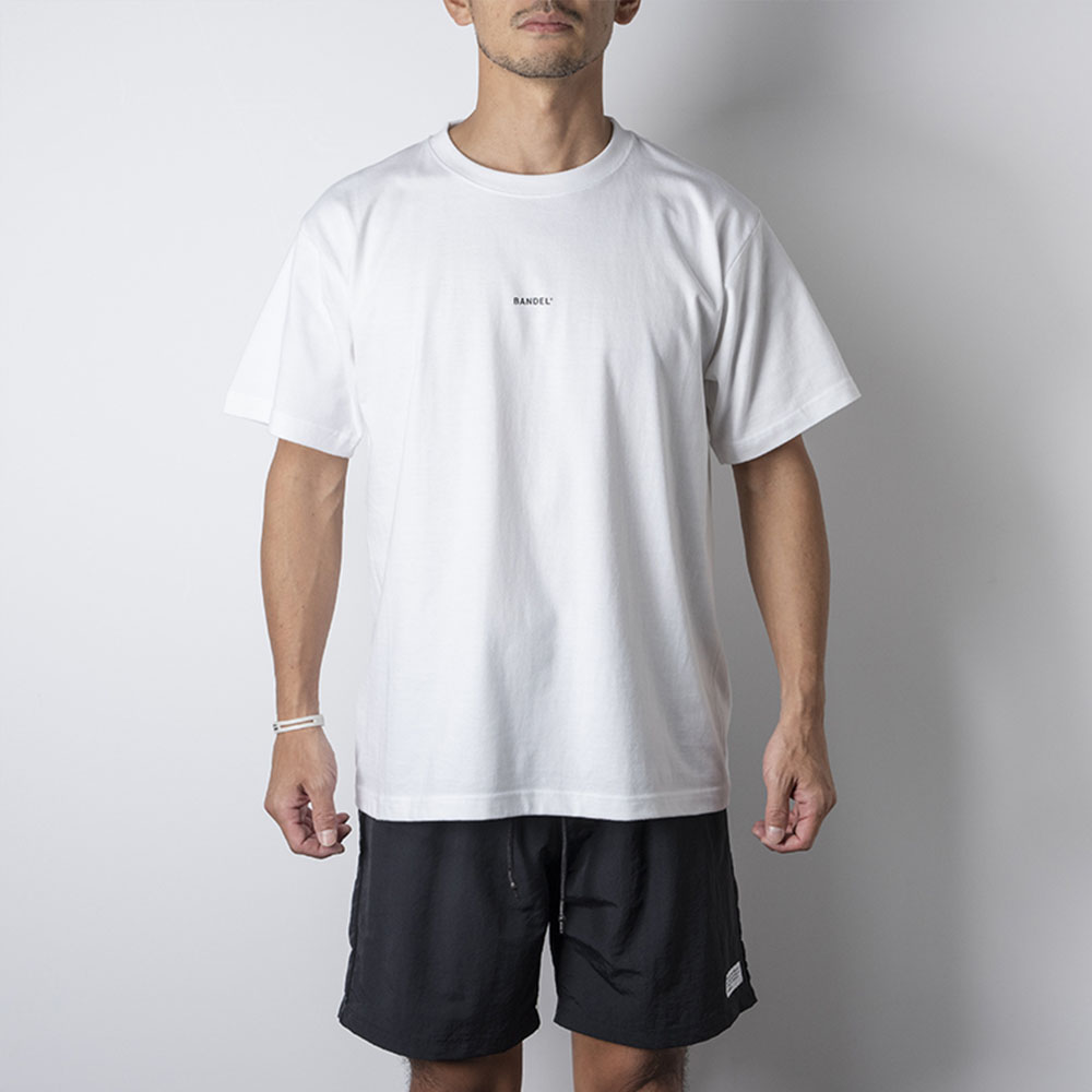 """BANDEL Tシャツ COLLECTION LINE """"GHOST"""" XL-LOGO S/S T BAN-T011 WhitexGold"""