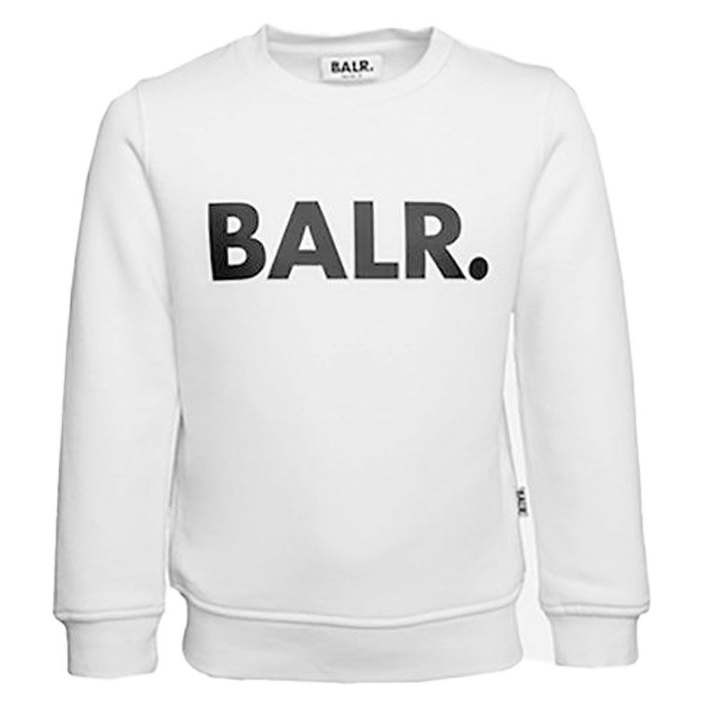 BALR. キッズスウェット BRAND CREW NECK SWEATER B10221 WHITE