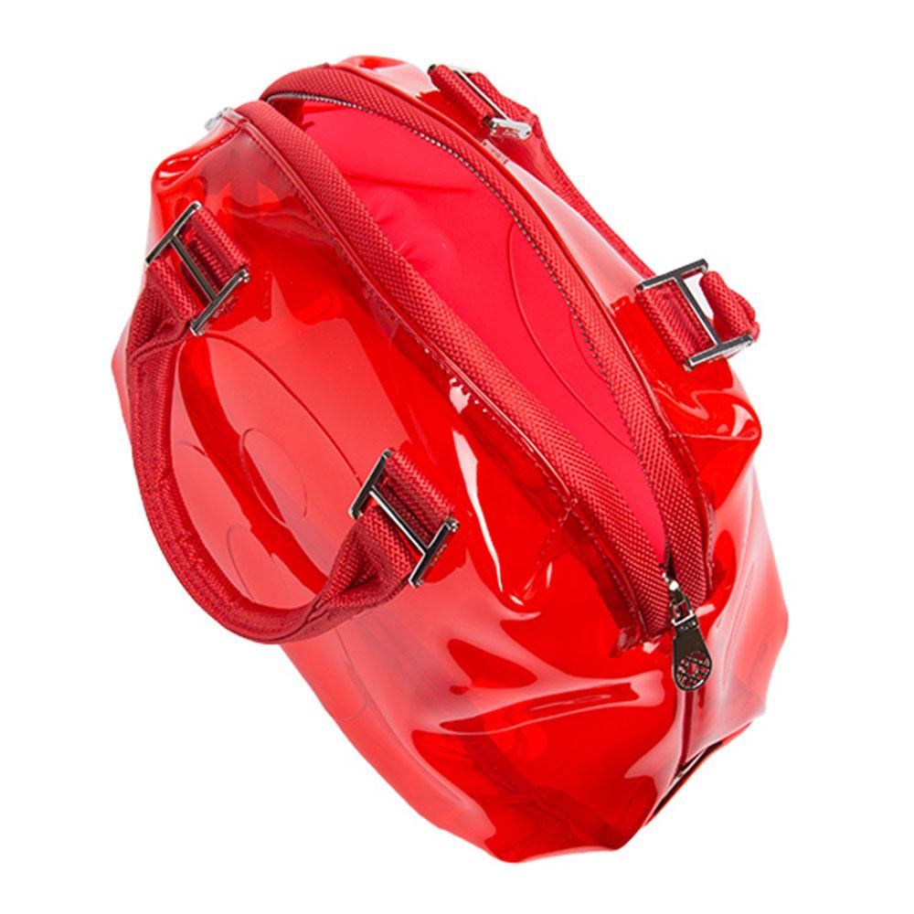 muta ビニールエンボス8ミニバッグ MMBC-190830 クリア8バッグ RED MINI