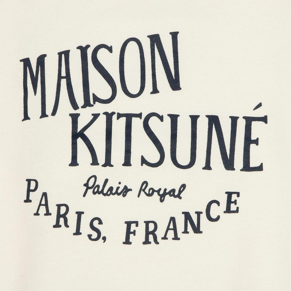 MAISON KITSUNE スウェット レディース PALAIS ROYAL LATTE AW00300KM0001