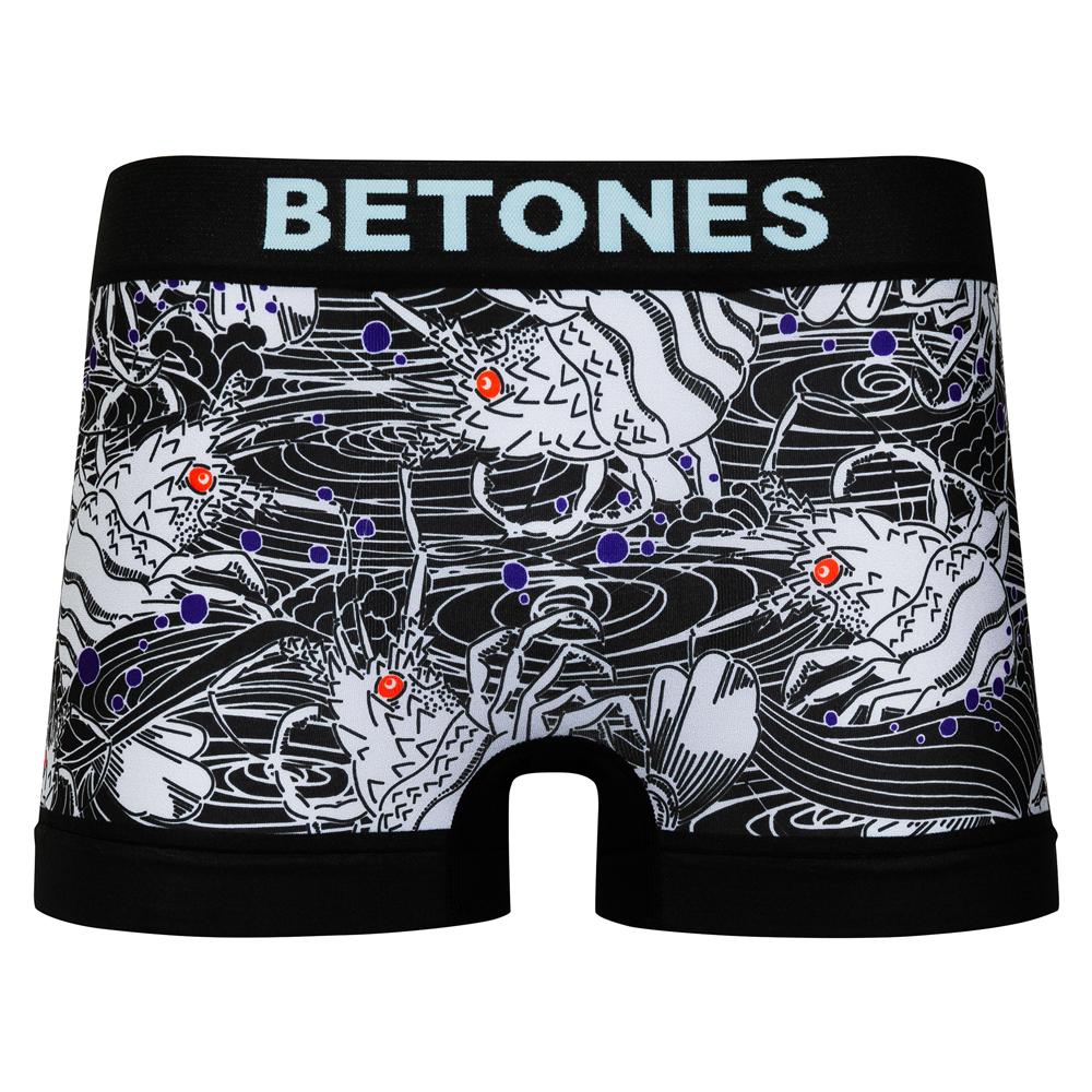 BETONES ボクサーパンツ ENGI ENG001 GRAY Free