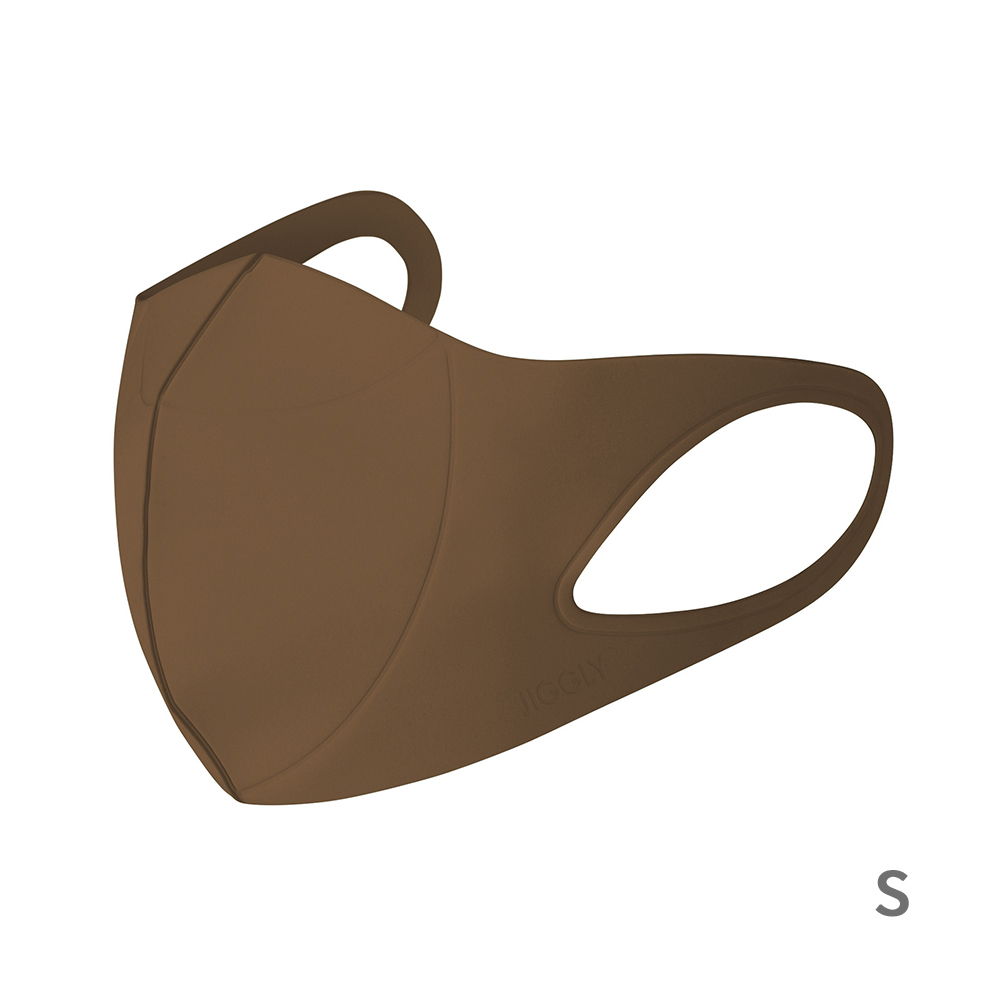 JIGGLY ウルトラパフマスク BROWN