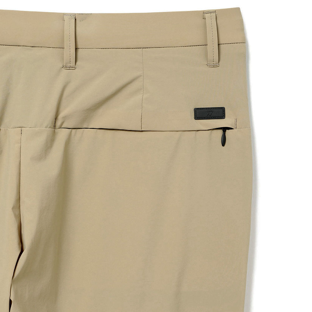 H.I.P. by SOLIDO パンツ FETHER WEIGHT RE.TAFFETA TAPERED PANTS MHSL21S5060-S BEIGE