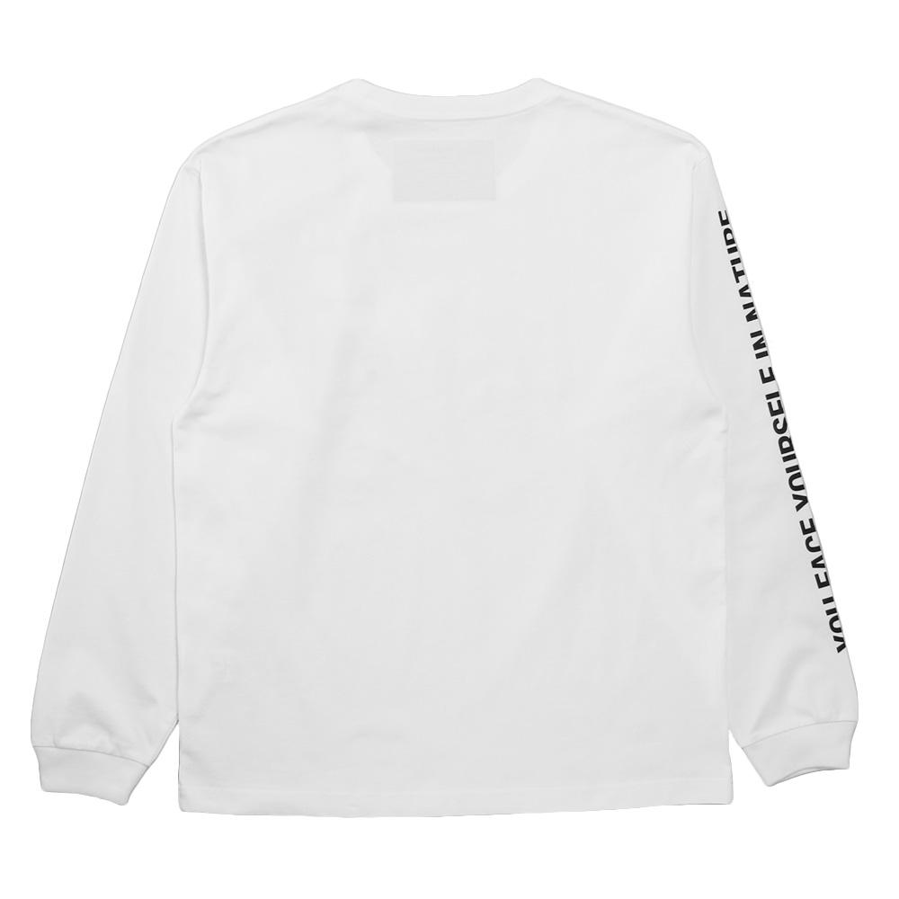 Seagreen ロンT ORGANIC COTTON JERSEY LONG SLEEVE T-SHIRT MSEA21S8200-M WHITE