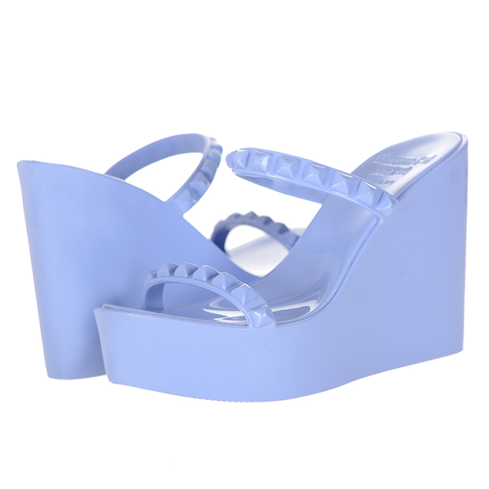Carmen Sol カルメンソル ウェッジ サンダル BABY BLUE