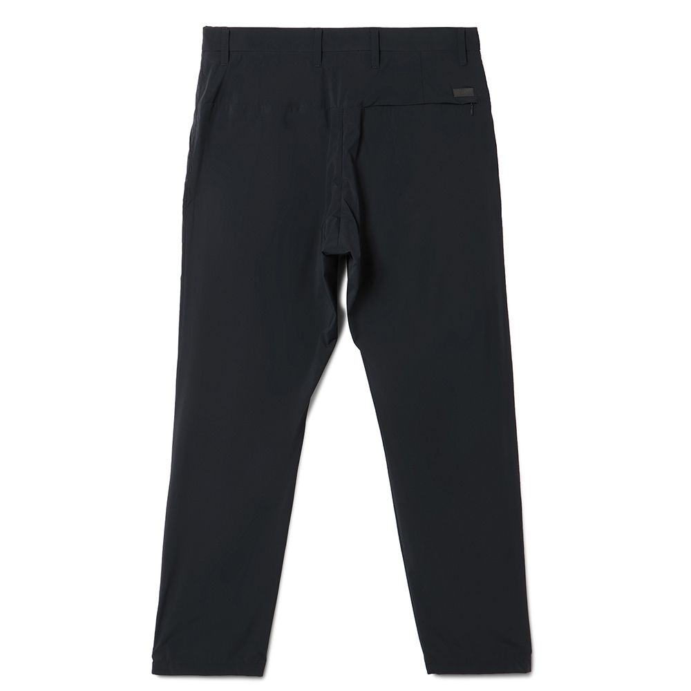 H.I.P. by SOLIDO パンツ FETHER WEIGHT RE.TAFFETA TAPERED PANTS MHSL21S5060-S BLACK