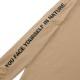 Seagreen ロンT ORGANIC COTTON JERSEY LONG SLEEVE T-SHIRT MSEA21S8200-M BEIGE
