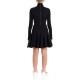 OFF WHITE ドレス CHEERLEADER MULTIWAVES OWDB173E19E621191010 BLACK BLACK