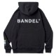 BANDEL フーディー Color Benefit BAN-HD018 HEALTH BlackxGreen