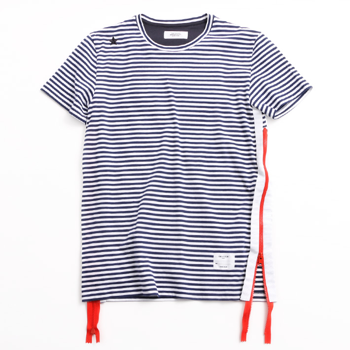 THE EDITOR エディター Tシャツ E406980N5 63 RED/NAVY