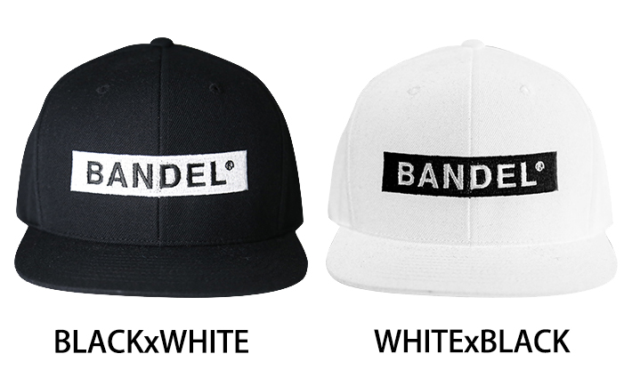BANDEL バンデル BOXLOGO BASEBALL CAP (キャップ) STANDERD LINE CP003 FREE