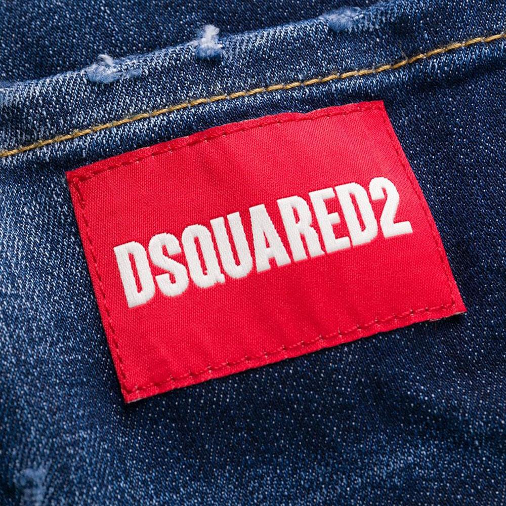DSQUARED2 デニムパンツ SKATER Jeans S71LB0780 S30664 BLUE