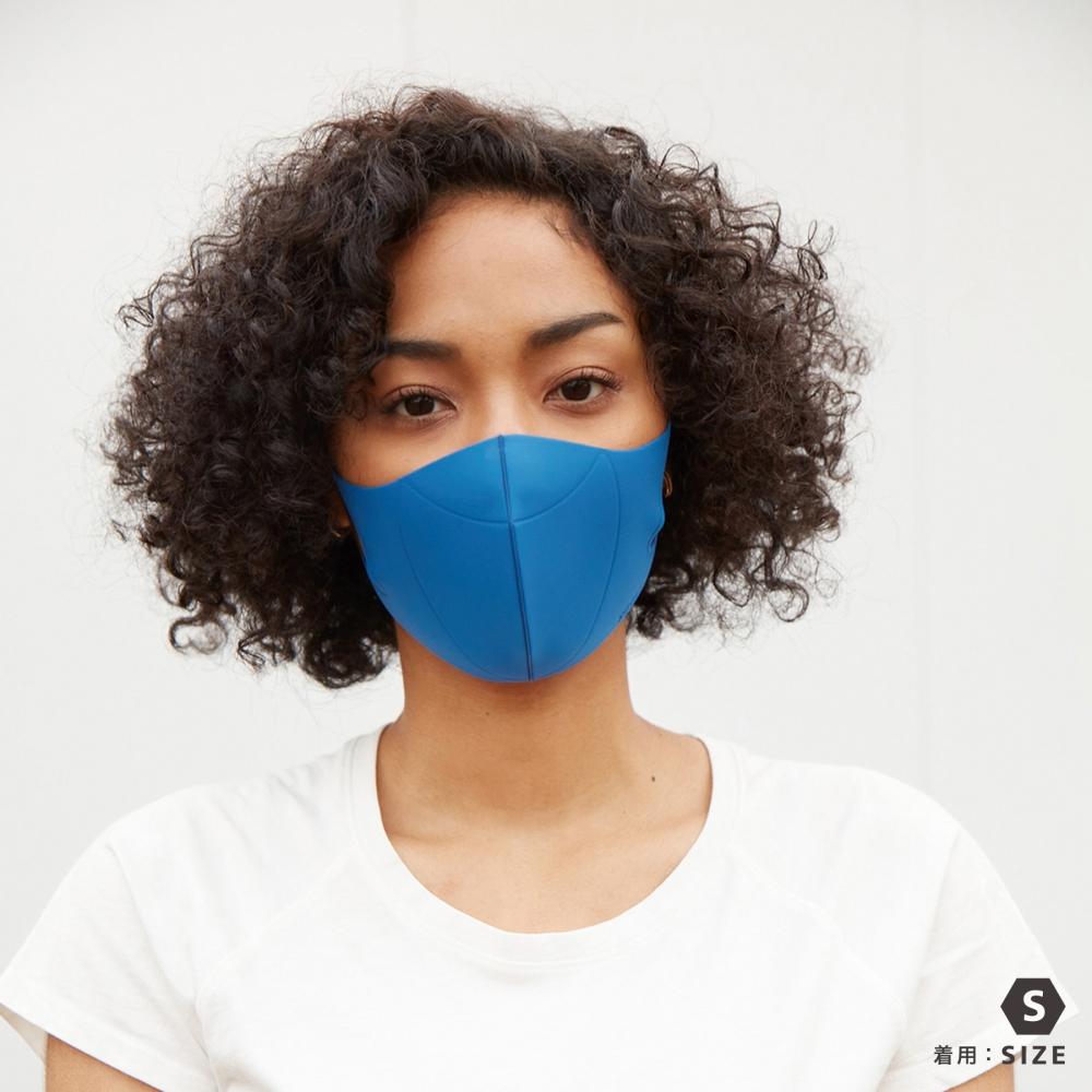 JIGGLY ウルトラパフマスク BLUE
