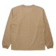 Seagreen ロンT ORGANIC COTTON JERSEY LONG SLEEVE T-SHIRT MSEA21S8201-M BEIGE