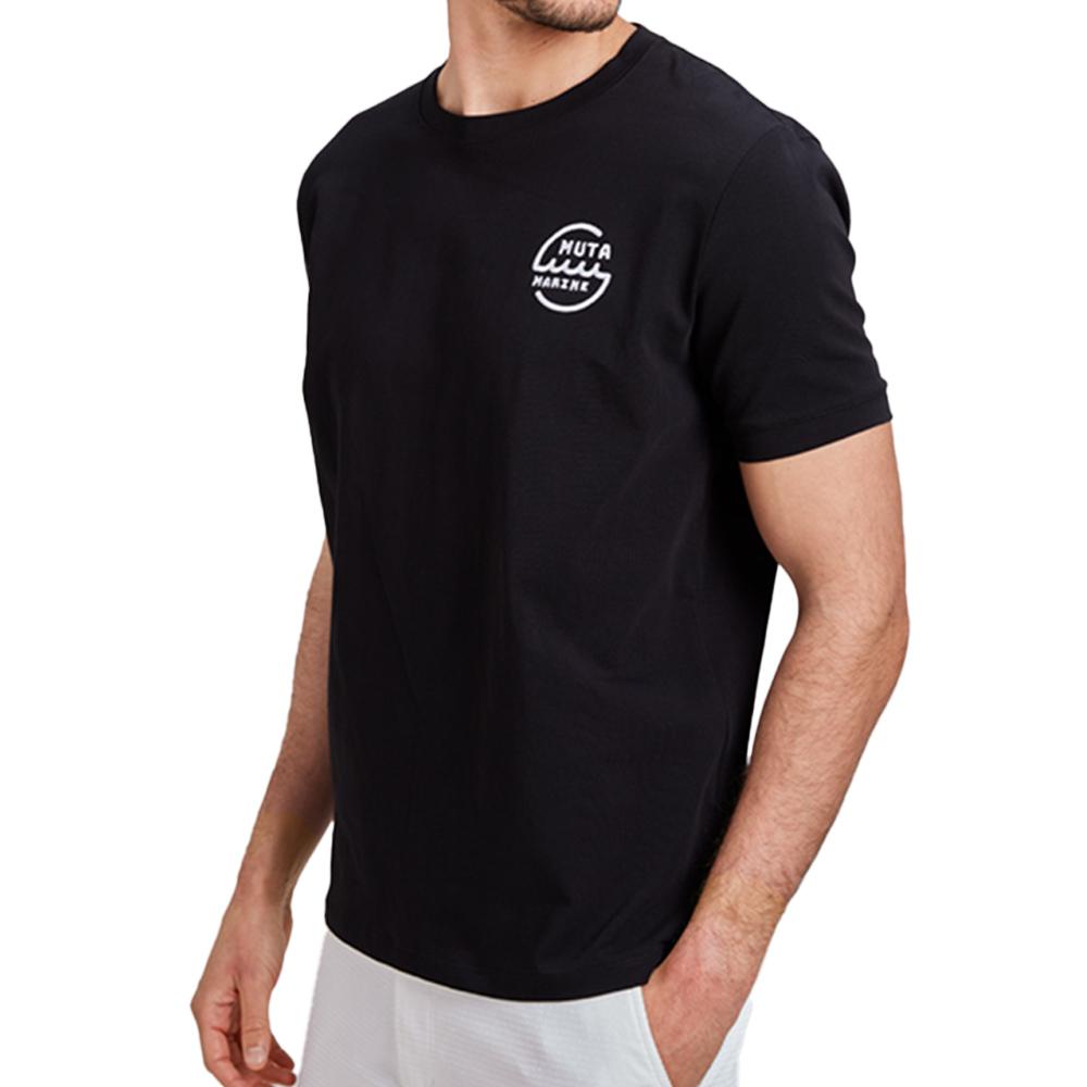 muta MARINE Tシャツ MMMP-434166 BLACK