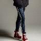 【予約】 RESOUND CLOTHING パンツ Blind LINE HEAT PT RC22-ST-008H DENIM