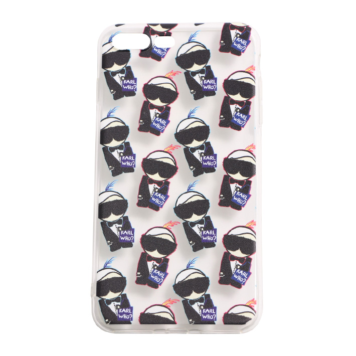SOCIALITTE ソーシャライト iPhone 7case Plus KARL WHO CLEAR