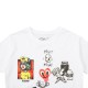 TRACT Tシャツ ECLECTIC TR178M WHITE