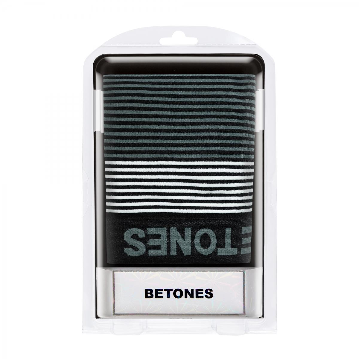 BETONES ビトーンズ ボクサーパンツ NEON4-B006 BLACKxGRAY