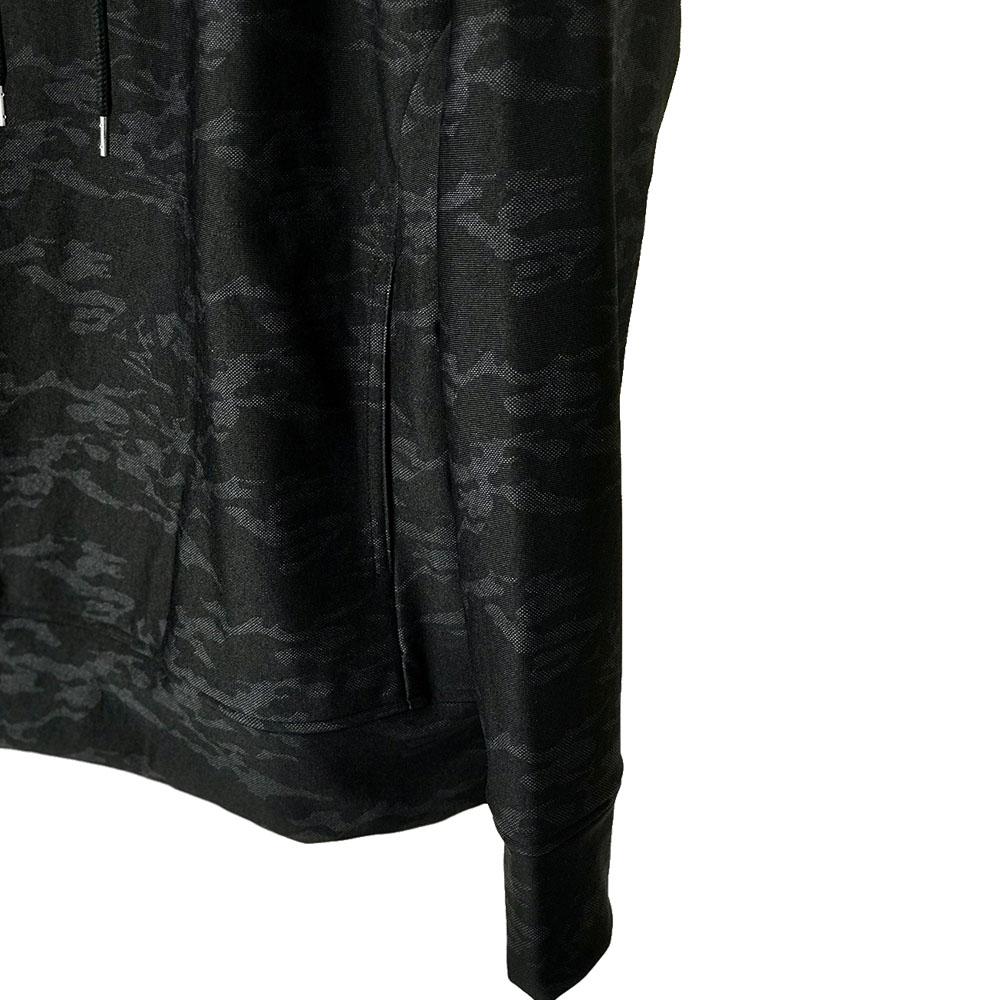 RESOUND CLOTHING フーディ HEAT CAMO loose hoodie RC17-C-003 / BLACK