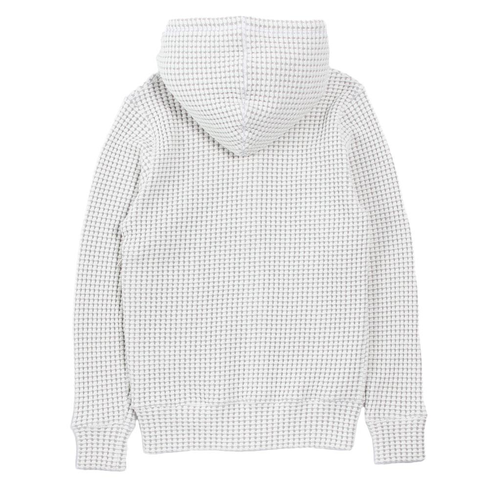 Seagreen フーディー BIG WAFFLE hoodie MSEA21S0846-M IVORY
