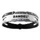 BANDEL ブレスレット REACT White×Black