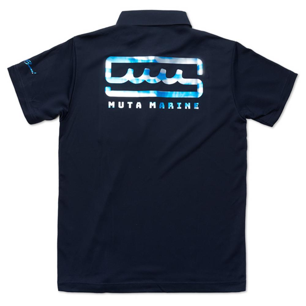 muta MARINE ポロシャツ MMAX-446093 NAVY
