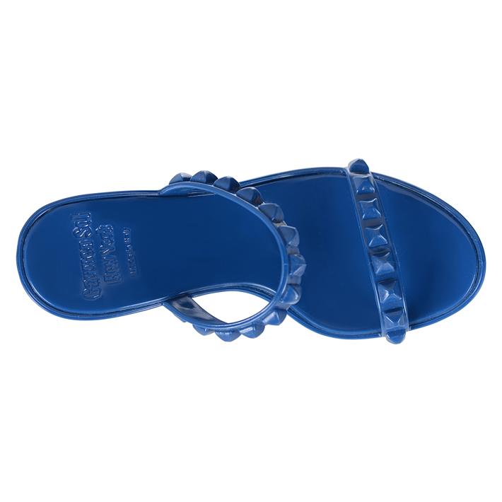 Carmen Sol カルメンソル ウェッジ サンダル DARK BLUE