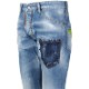 DSQUARED2 デニム Rave On Cool Guy Jeans S74LB0599