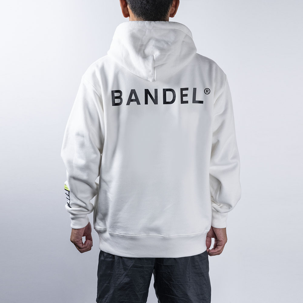 BANDEL フーディー Color Benefit BAN-HD018 CHILL WhitexYellow