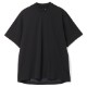 H.I.P. by SOLIDO×LEADER DELTA Tシャツ SOLOTEX LOOSE CREWNECK HALF SLEEVE T MHSL21S0828-M BLACK