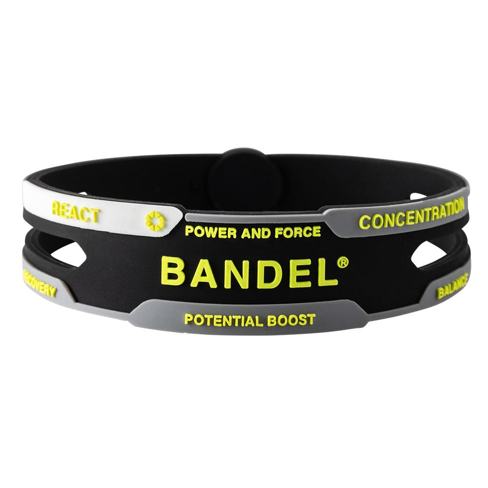 BANDEL ブレスレット REACT Black×Yellow