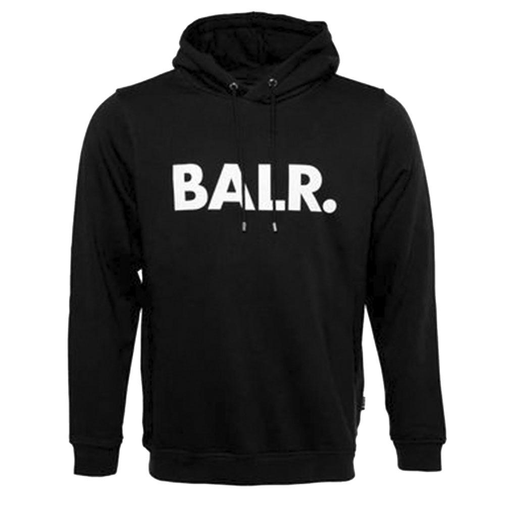 BALR. フーディー BRAND HOODIE B10005 BLACK
