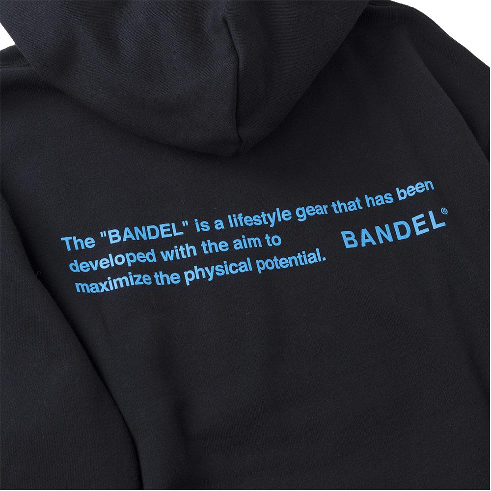 BANDEL フーディー GHOST Concept Notes BAN-HD017 BlackxNeonBlue