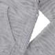 Seagreen フーディー ZEBRA PILE JQ HOODIE MSEA21S8088-M GREY