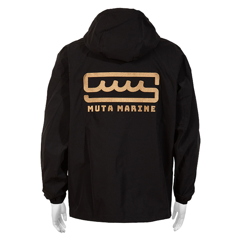 muta MARINE ムーブフィットパーカー MMMK-443070 BLACK